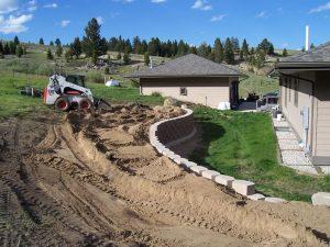 Montana Landscape Construction - retaining wall
